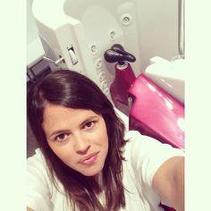 On peut même faire des selfies au Waterbike ! Coucou @Monicositas