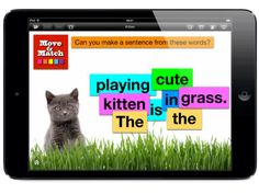 Making, matching and memory games for young learners. https://itunes.apple.com/gb/app/id564592203?mt=8&affId=2009418