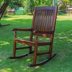 """Features:  -Porch Rocker.  -All weather resistant.  -Cushion not included..  Style: -Traditional/Coastal.  Distressed: -Yes.  Weight Capacity: -300 Pounds. Dimensions:  -Seat: 20.5"""" L x 19.75"""" W.  Ove"""