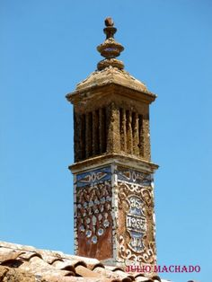Algarve, Silves, Portugal, Interesting Buildings, Rooftops, Moorish, Garden Planters, Concrete Floors, Lighthouses