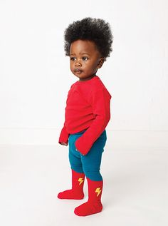 Little Hero Tights By Tiny Titans
