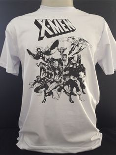camiseta super heróis marvel x-men - popicnerd
