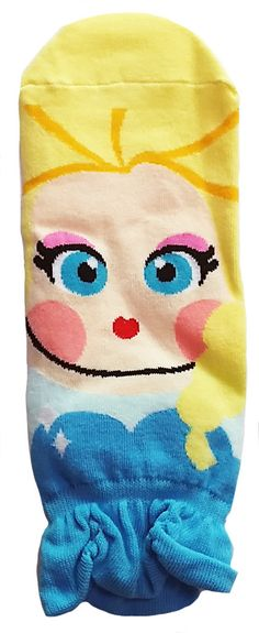 JJMax Princess Series Character Socks: Elsa, Anna, Ariel, Snow White – JJMaxUS
