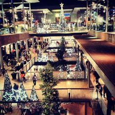 La Maquinista Shoppingmall during Christmas, Barcelona (Spain)