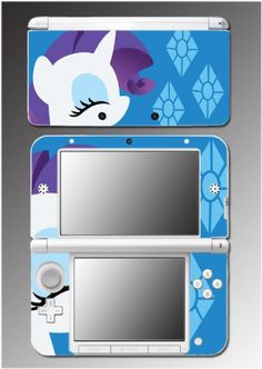 SAVE $5.32 - #Rarity My Little Pony MLP Unicorn Cartoon Movie Video Game Vinyl Decal Skin Cover Protector for Nintendo 3DS XL Console System $7.98