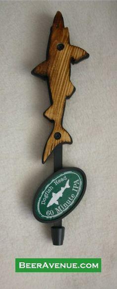 Dogfish Head 60 Minute IPA beer tap handle