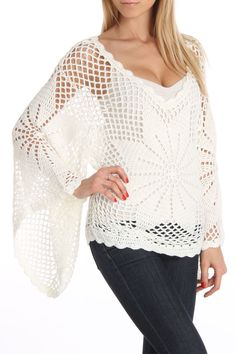 Bacci Taylor Crochet Top