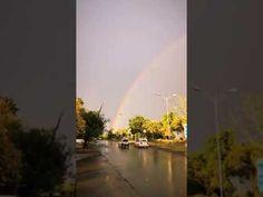 Islamabad View After rain Rainbow Beautiful Scene Channel, Country Roads, Scene, Rainbow, World, Nature, Beautiful, Rain Bow, Rainbows