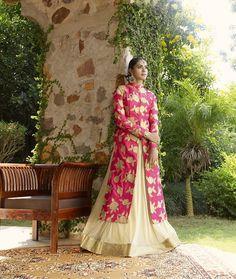 Beautiful rani colour lehanga choli