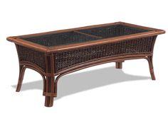 rattan coffee table tigre bay