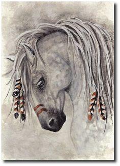 appaloosa horses, drawing - Buscar con Google