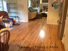 Mullican Red Oak Natural hardwood floors