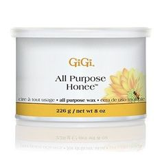 GiGi All Purpose Honee Wax 8 oz #0320 $9.95  Visit www.BarberSalon.com One stop shopping for Professional Barber Supplies, Salon Supplies, Hair & Wigs, Professional Product. GUARANTEE LOW PRICES!!! #barbersupply #barbersupplies #salonsupply #salonsupplies #beautysupply #beautysupplies #barber #salon #hair #wig #deals #sales #GiGi #allpurpose #honee #0320