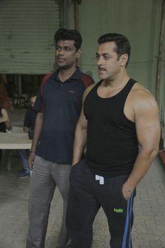 "Check out Salman Khan's Moustache look For Sooraj Barjatya's movie  ""Prem ratan Dhan Payo."""