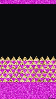 ©2017 By Dênna Pink Wallpaper, Wallpaper Backgrounds, Iphone Wallpaper, Wallpapers, Chevron, Girly, Glitter, Rugs, Home Decor