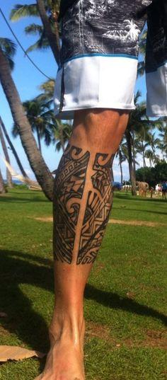 LegTattoo-Maori