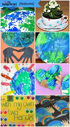 Earth Day Handprint