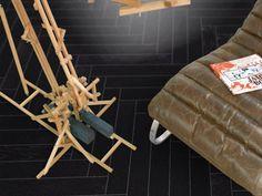 DUB ČERNÝ NATURE - Parador Trendtime 3 třívrstvá dřevěná podlaha plovoucí Chair, Furniture, Home Decor, Decoration Home, Room Decor, Home Furnishings, Chairs, Arredamento, Interior Decorating