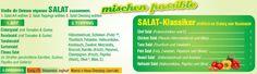 Auf den Online Speisekarten vom Muncheese Lieferservice Berlin finden sich auf die beliebten Salat Spezialitäten. Knackig frisch und lecker angerichtet kann man aus einer großen Auswahl an verschiedenen Salat Spezialitäten und vielen Extras auswählen. http://muncheeselieferservice.wordpress.com/2012/09/12/knackig-frische-salate-beim-muncheese-lieferservice-berlin-bestellen/