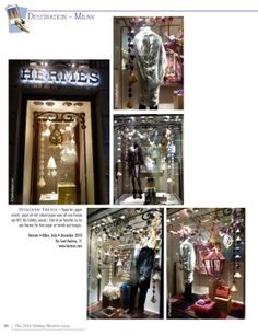 2010 Hermes holiday store windows