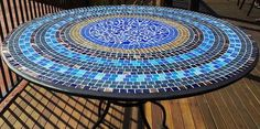 Learn how to make a mosaic table with this detailed project instruction sheet. This step by step guide makes it easy to create a beautiful mosaic.