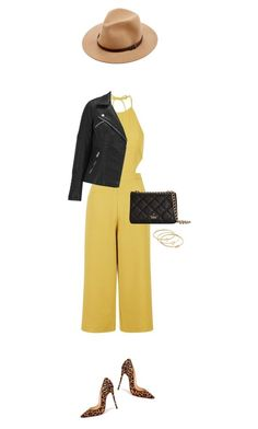 """""""Pop of yellow and Leopard to catch eyes !"""" by azzra ❤ liked on Polyvore featuring Topshop, Christian Louboutin, ONLY, Kate Spade, Madewell, Sole Society and nyfwstreetstyle"""