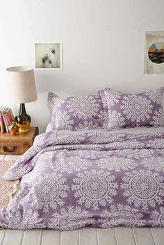 Boho bedding is the best! Anything and everything purple is a must have for your future home here at LSU!
