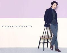 Won Bin in Chris. Christy Winter 2013 Ad Campaign Korean Men, Korean Actors, Autumn Tale, Autumn In My Heart, Kim Min Hee, Won Bin, Jo In Sung, Tough Guy, Kimchi