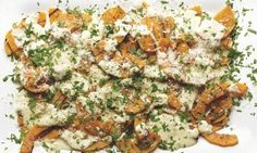 Many splendoured things: Yotam Ottolenghi's recipes for vegetable dishes to feed a crowd - Yotam Ottolenghi's grilled squash with bagna cauda: - Vegetable Dishes, Vegetable Recipes, Vegetarian Recipes, Cooking Recipes, Healthy Recipes, Raw Recipes, Ottolenghi Recipes, Yotam Ottolenghi, Grilled Squash