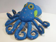 OCTOPUS Pattern - Plush Toy Sewing  | Craftsy