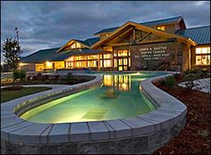 Gaston's visitor center. Where you get the info you want about Gaston's Resort. Located in Lakeview, AR it is one of the finest resorts to vacation at in the Ozarks. Fine dining, lots of activities, great fishing. It's a FIVE star resort.