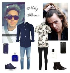 Narry Storan Date by ellilla on Polyvore featuring River Island, Neuw denim, Topman, Gucci, Timberland, Native Union, Chanel, Ralph Lauren, Casetify and But Another Innocent Tale