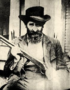 "Undated file photo of William Anderson ""Devil Anse"" Hatfield, the patriarch of the Hatfield clan. The family was part of the most infamous feud in American folklore, a long-running battle with the McCoys."