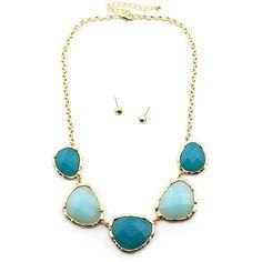 Gemstone Necklace - Sam Moon