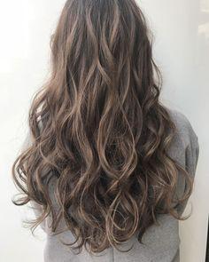 Blonde Hair Looks, Brown Blonde Hair, Permed Hairstyles, Pretty Hairstyles, Men Hairstyles, Korean Wavy Hair, Wavy Hair Perm, Digital Perm, Hair Images