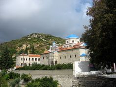 Monastery of Timio Stavros is located 2km Southeast of the village of Mavratzeoi next to the road and on altitude of 200 meters. In 1582, monk Neilos has founded a small church and in 1604 he and his brother Dionysios expanded it. There are frescoes, and a magnificent woodcut temple.