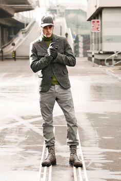Strellson Sportswear Looks Fall/Winter 2013. #sportswear #fashion #streetstyle #casual #jacket