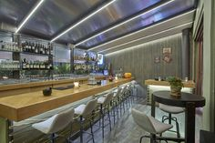 Mexil Design Restaurant To Magazi Athens Restaurant Design, Athens, Conference Room, Modern, Table, Furniture, Home Decor, Trendy Tree, Decoration Home