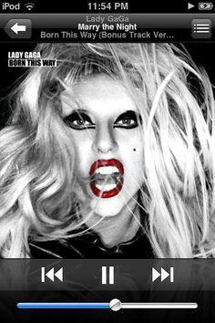 """I won't give up on my life, I'm a worrior queen, live passionately tonight"""