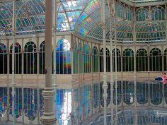 Palacio de cristal, Madrid, Spain