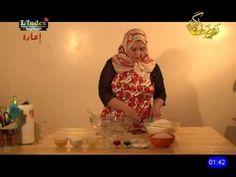 حصة حلويات كريمة - حلوى الثومة - YouTube