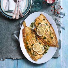Dutch Sole a la Meunière - Gebakken Noordzeetong a La Meunière (my favourite fish)