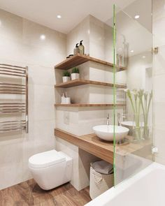 Interior and Decor - Interior design. Decor & # s photos- Interior and Decor – Interior design. Decor & # s photos Interior and Decor – Interior design. Decor & # s… - House Bathroom, Shelves, Interior, Bathroom Interior, Modern Bathroom, Bathroom Renovations, Corner Shelves, Bathroom Decor, Small Bathroom Remodel