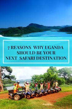 Uganda is home to 10 national parks, is also where the Nile River starts. Here are 7 reasons to make Ugandaa safari destination! #safaritour #adventuresafari