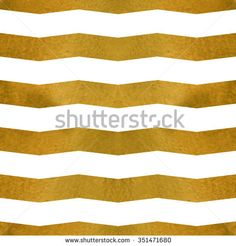 Vector seamless pattern. Golden zigzags on white. Texture for web, print, wallpaper, textile, wrapping, scrapbook, background for invitation card or holiday decor.