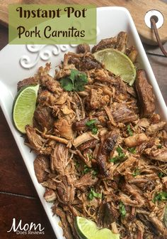 Instant Pot Pork Carnitas #recipe #instantpot #yummy
