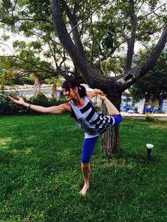 My yoga-Heike