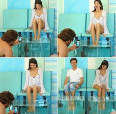 Fishy pedi in Greece. Kendall & brother Brody Jenner