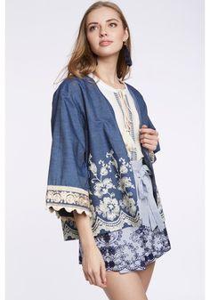 What a nice kimono!  SS18 Mesïe outfit