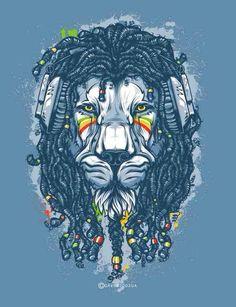 complete work of Andrey Krasnov (Rasta Lion) So amazing! Rasta Art, Rasta Lion, Arte Dope, Dope Art, Art And Illustration, Lion Tattoo Design, Tattoo Designs, Sneaker Art, Lion Art